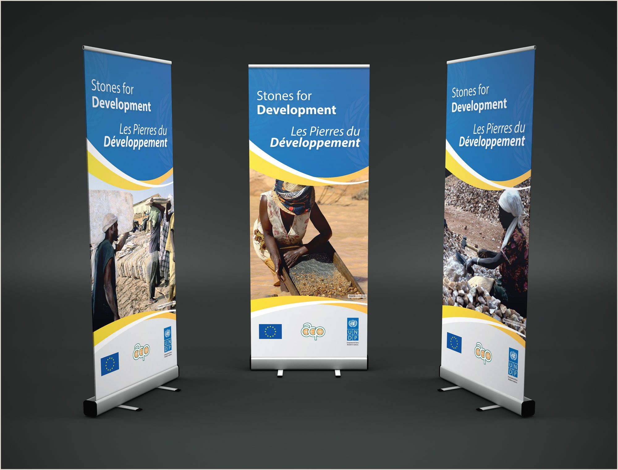 Pop Up Poster Roll Up Banner