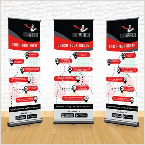 Pop Up Signs For Trade Shows Design Tradeshow Popup Banner For Transportation Startup