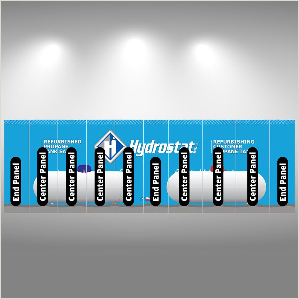 Pop Up Signs For Trade Shows Graphic Packages For 20×10 Booth Pop Up Displays
