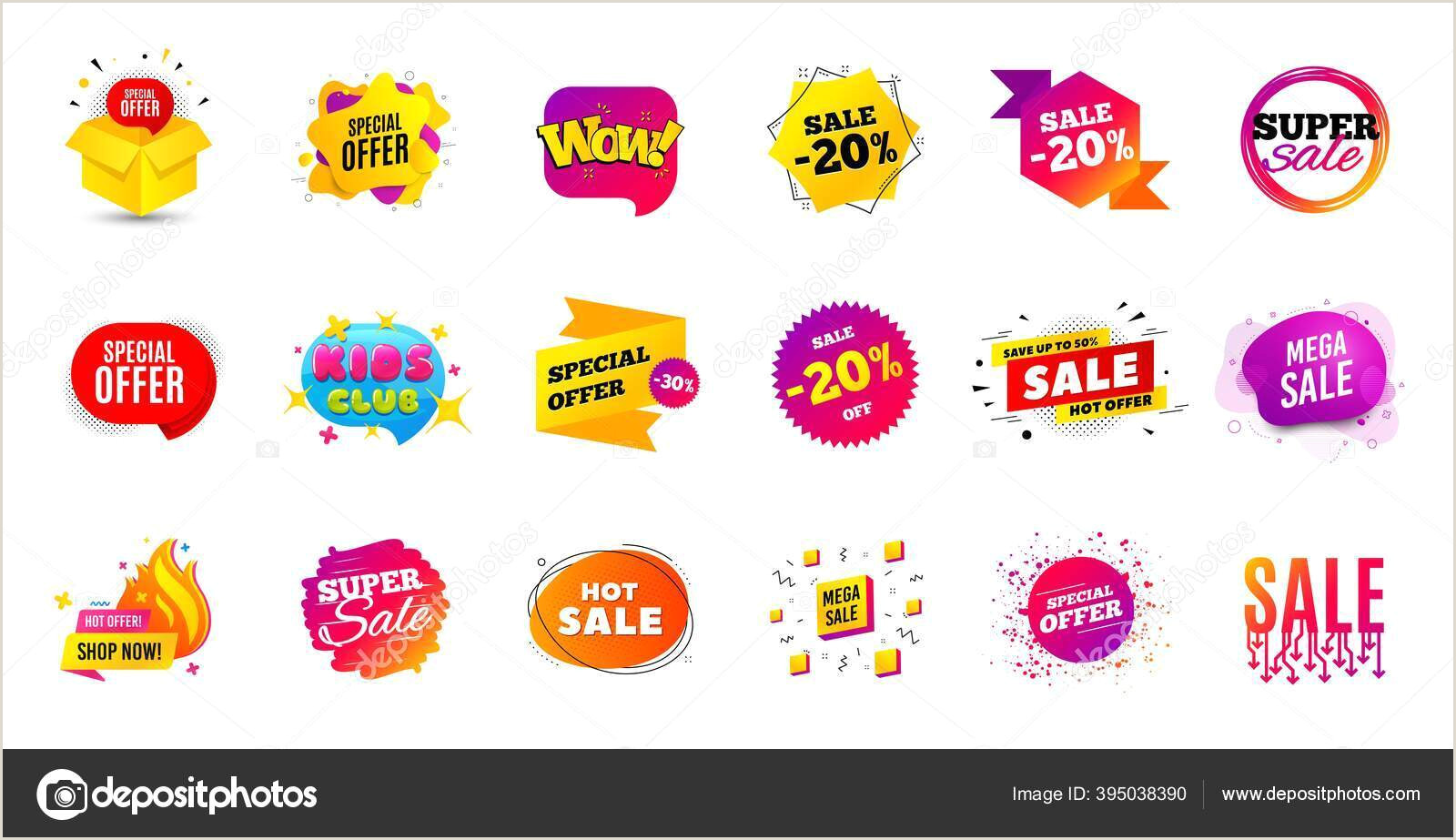 Popup Banner Coupon Sale Banner Tags Discount Price Badge Promotion Coupon Templates Black Friday Shopping Icons Best Offer Badge Cyber Monday Sale Banner Price