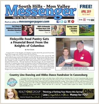 Popup Banner Coupon South Hills Mon Valley Messenger April 2019 By South Hills