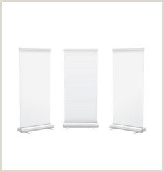 Popup Banner Stand Popup Stand Vector 67
