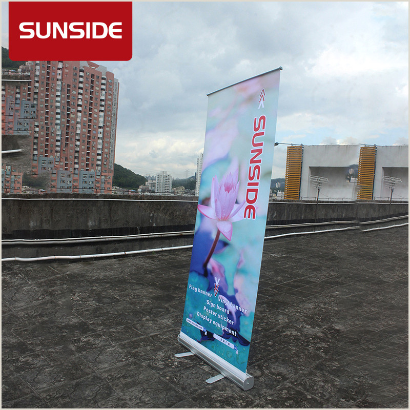 Popup Display Banner 85 X 200 Pop Up Roller Banner Printed Display Exhibition