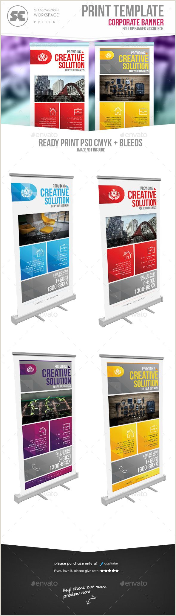 Popup Display Banner Corporate Roll Up Banner