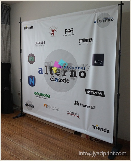 Portable Banner Display Custom Portable Media Backdrop Jumbo Banner Display For