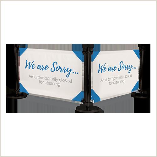 Portable Banner Displays Separating Walls And Screens For Coronavirus Covid 19