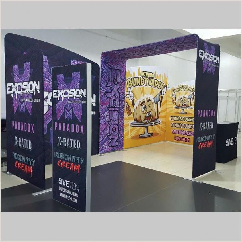 Portable Banner Displays Us $4350 0 20ft Portable Pop Up Stand Trade Show Display Booth Exhibition Sets With Roll Banner Counters Tv Bracket Lights Set Up Light Bannerset 2