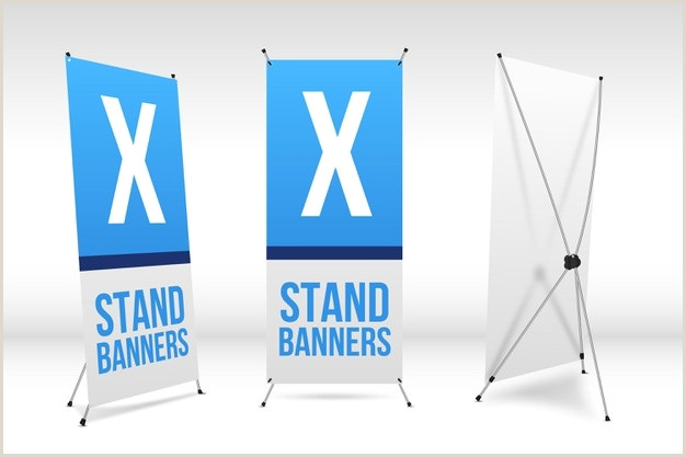 Portable Banner Stand Free Standing Banner