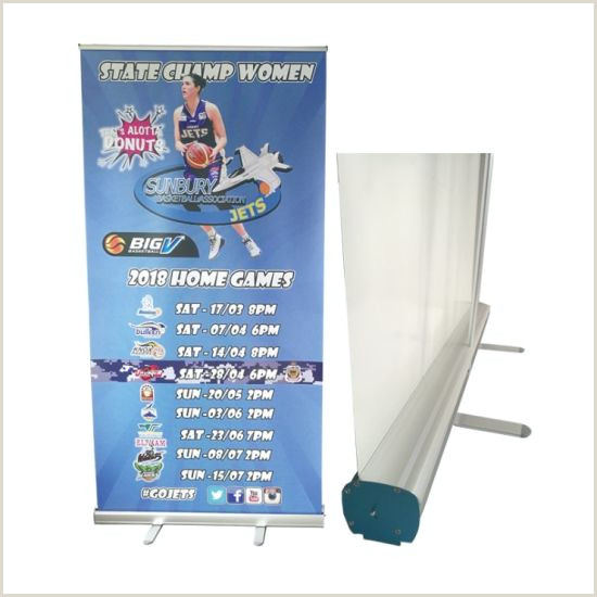 Portable Banner Stand Portable Roll Up Banner Stand With Vinyl Banner