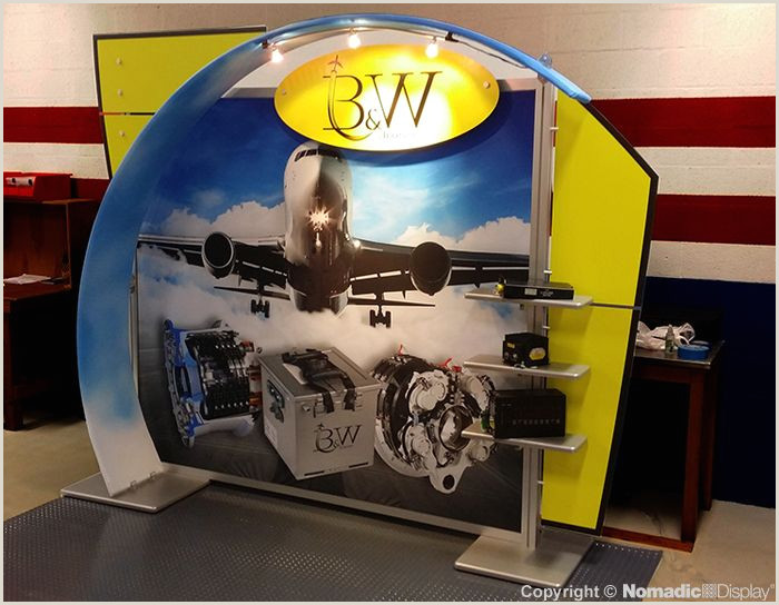 Portable Display Signs B&w Aviation Corp
