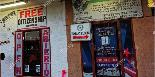 Portable Display Signs Bilingual Signs Spanish English High Resolution Stock