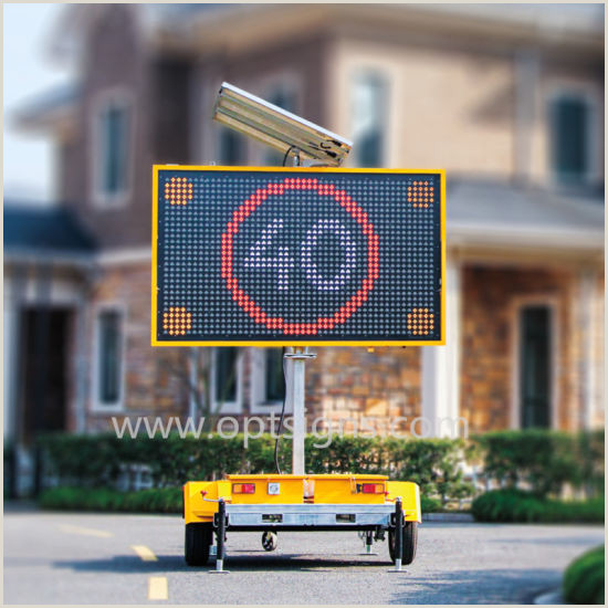 Portable Display Signs China 19m Highway Dynamic Outdoor Led Traffic Ads