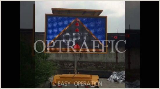 Portable Display Signs China Led Overhead Warning Board Mobile Led Display Light