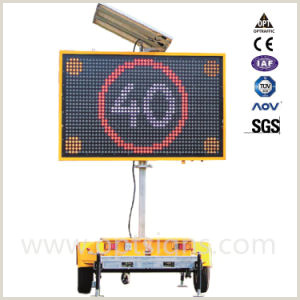 Portable Display Signs Oem Mining Industry Traffic Management Electronic Trailer Changeable Message Display Signs Solar Portable Led Message Sign