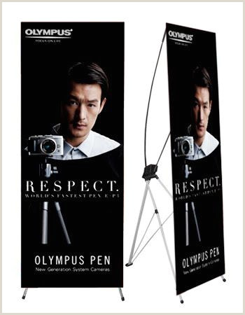Portable Poster Stand Korea X Banner Stand