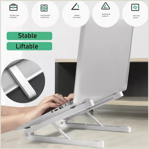 Portable Poster Stand Laptop Stand Adjustable Laptop Puter Stand Tablet,portable Laptop Stand Foldable Adjustable Laptop Stand Holder Universal Travel Ventilated