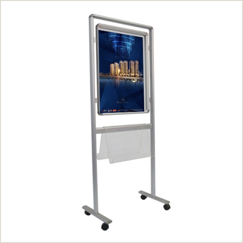 Portable Poster Stand Moving Poster Board With Acrylic Holder E06p10 Buy Wheeled