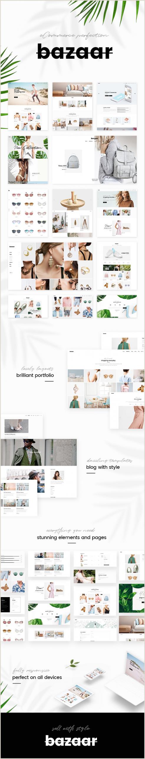 Portfolio Business Cards Bazaar E Merce Theme By Select Themes