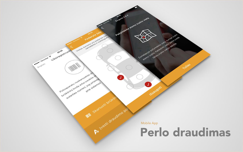 Portfolio Business Cards Perlas Broker App