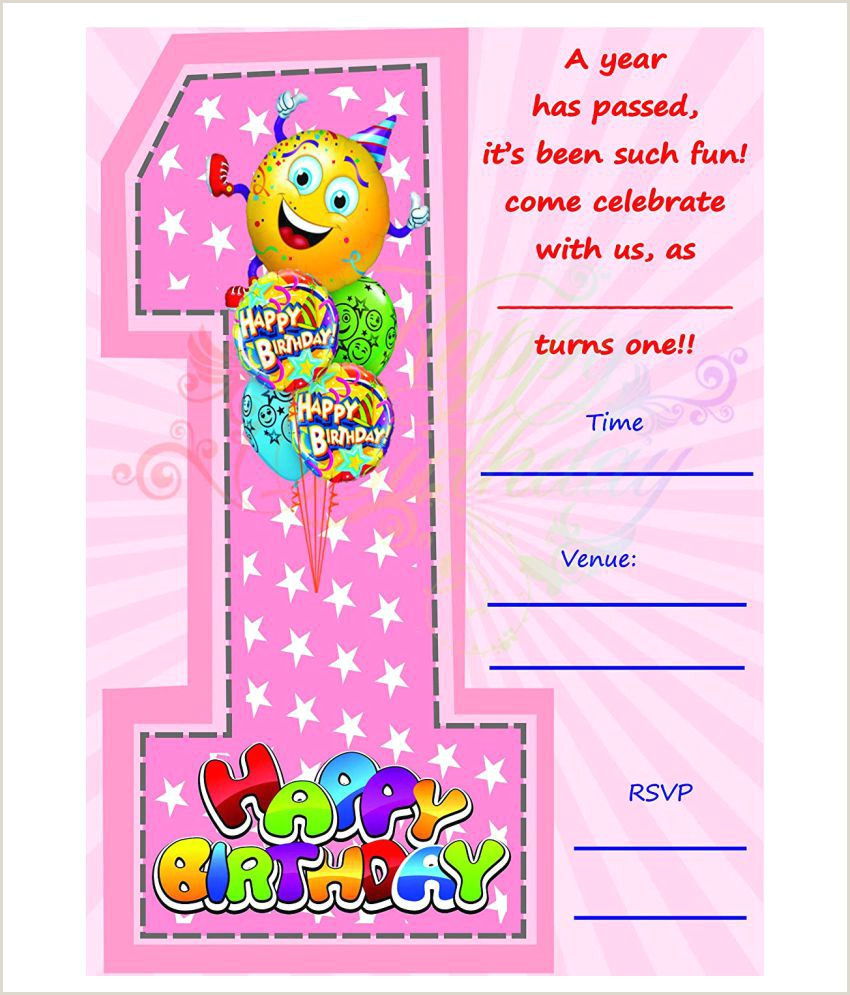 Post It Business Cards Birthday Metallic Card Invitations With Envelopes Kids Birthday Party Invitations For Boys Or Girls 25 Count Bpc 1002
