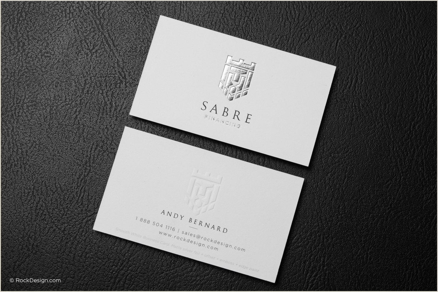Post It Business Cards Free Emboss & Foil Business Card Templates
