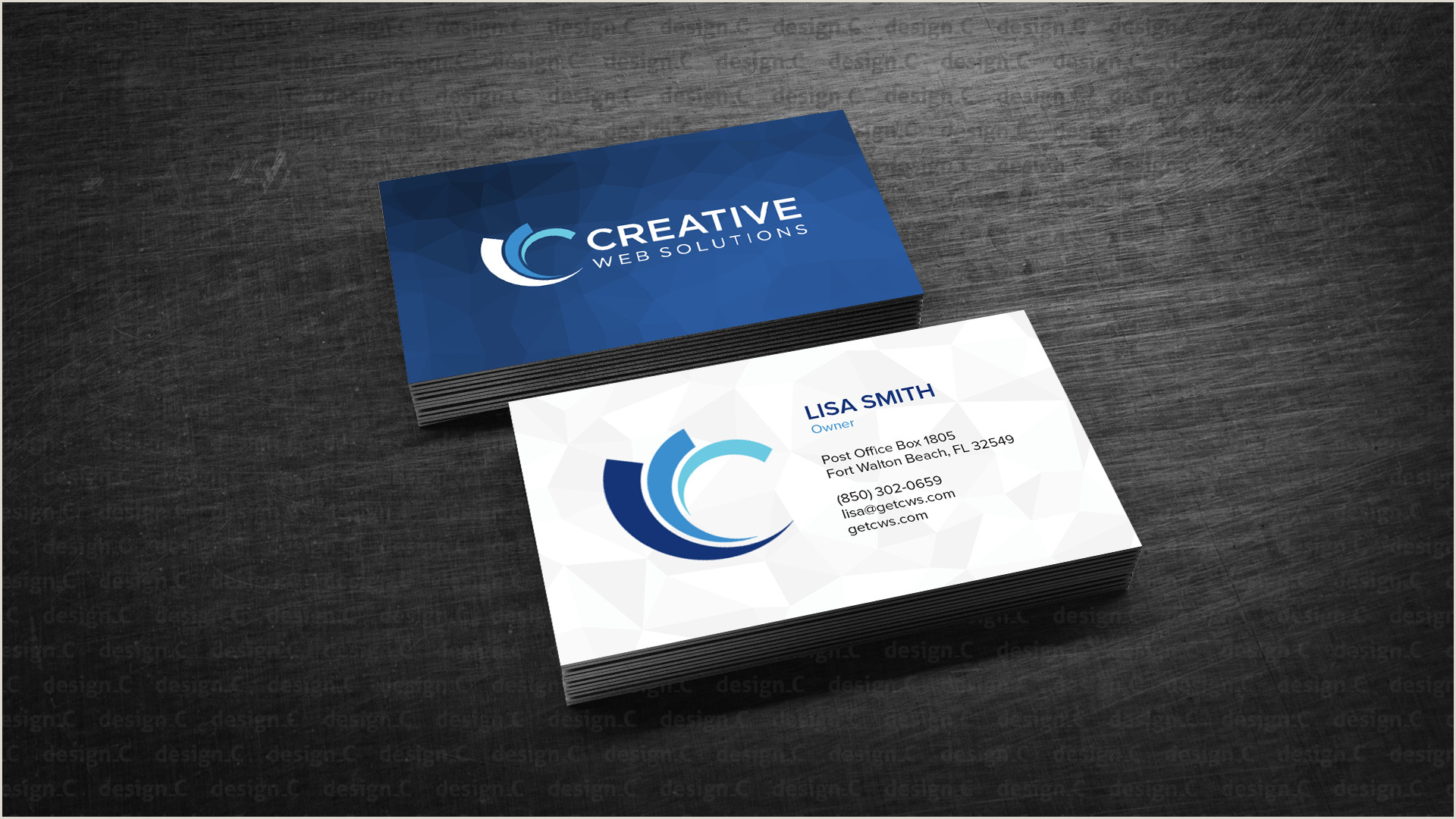 Post It Business Cards Lab Design Professional