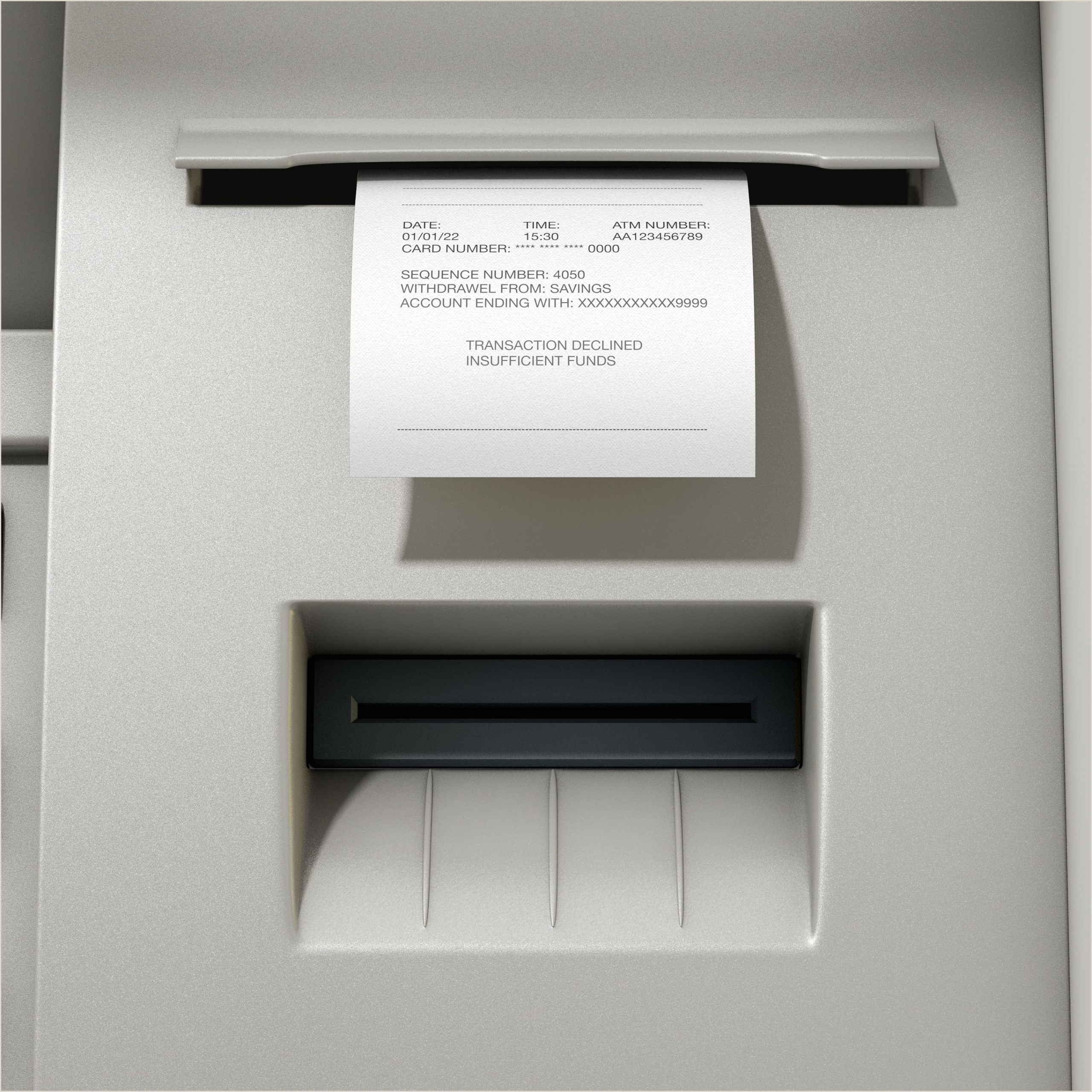 Post It Business Cards Non Sufficient Funds Nsf Definition