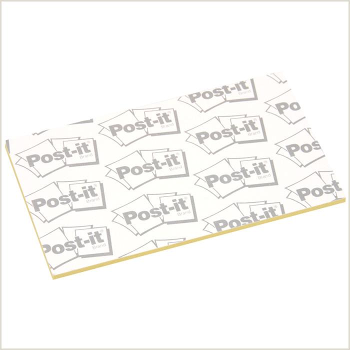 "Post It Business Cards Post It Business Card Notes 2"" X 3 1 2"" 50 Sheet"