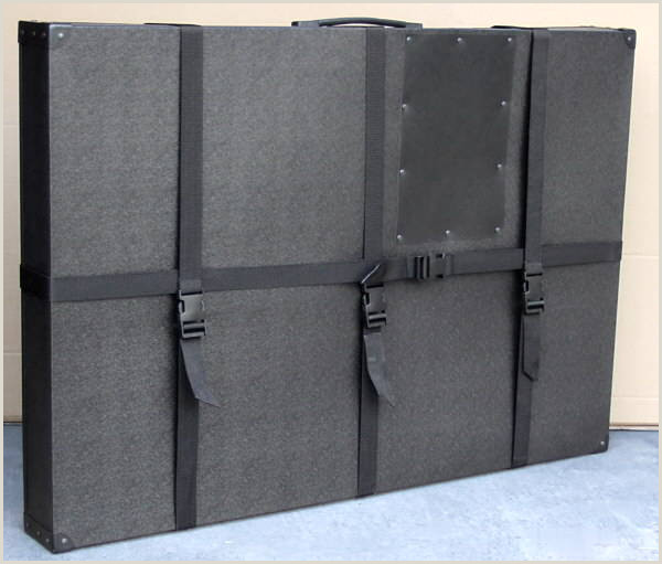 Poster Board Carrying Case 33 X42 X3 Hard Sided Art Shipping & Carrying Case For Poster Boards
