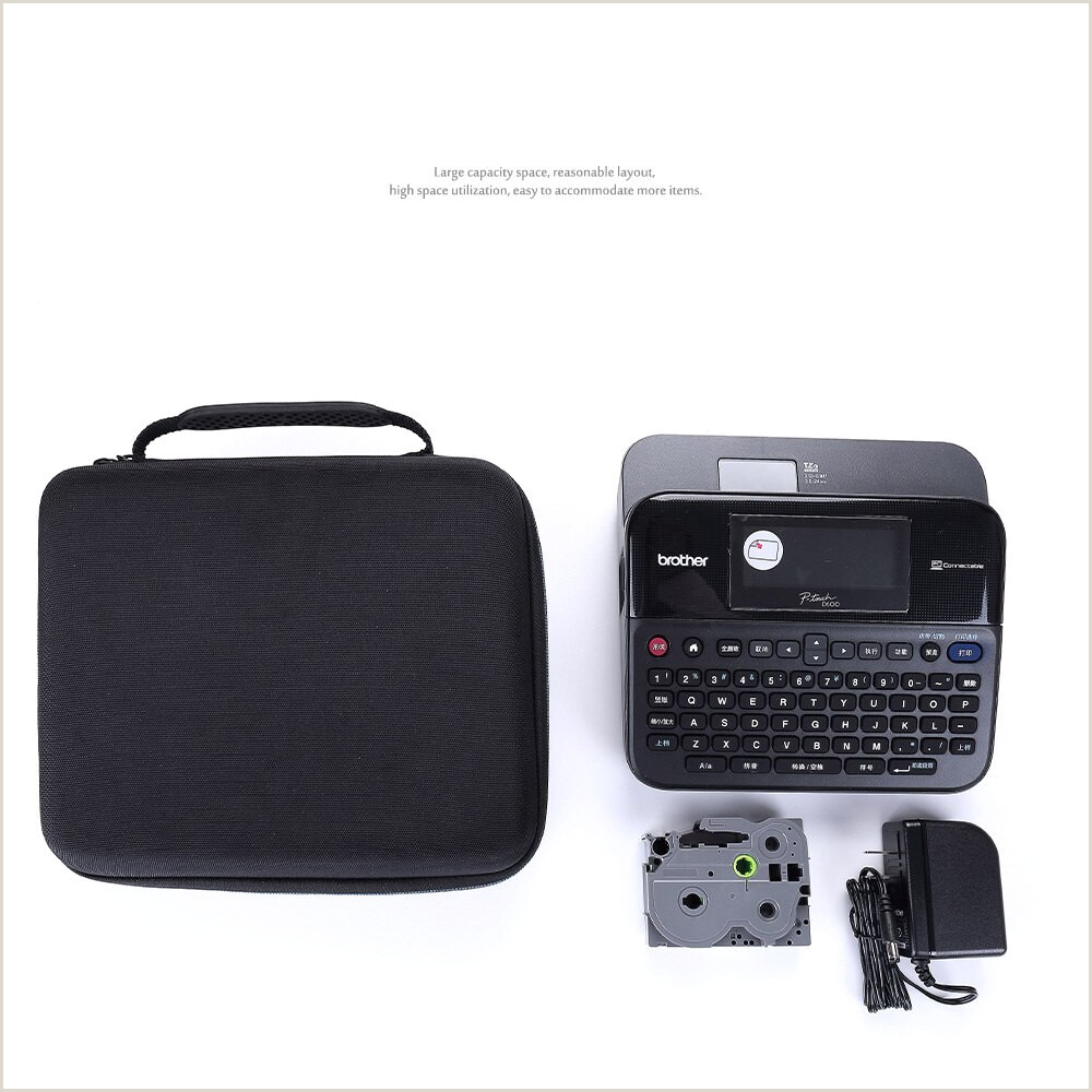 Poster Board Carrying Case Newest Eva Hard Carrying Case For Brother P Touch Pt D210