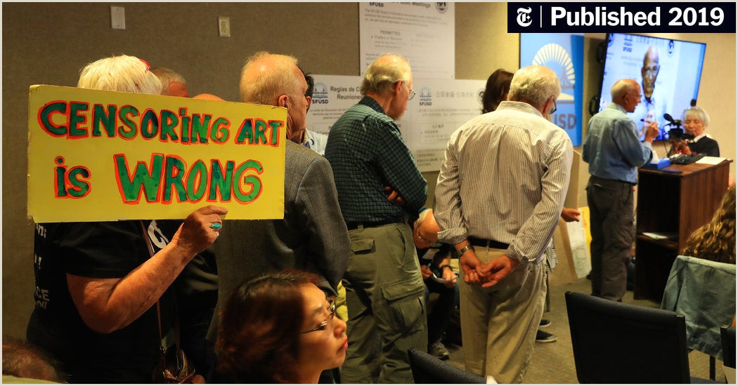 Poster Board Carrying Case San Francisco School Board Votes To Hide But Not Destroy