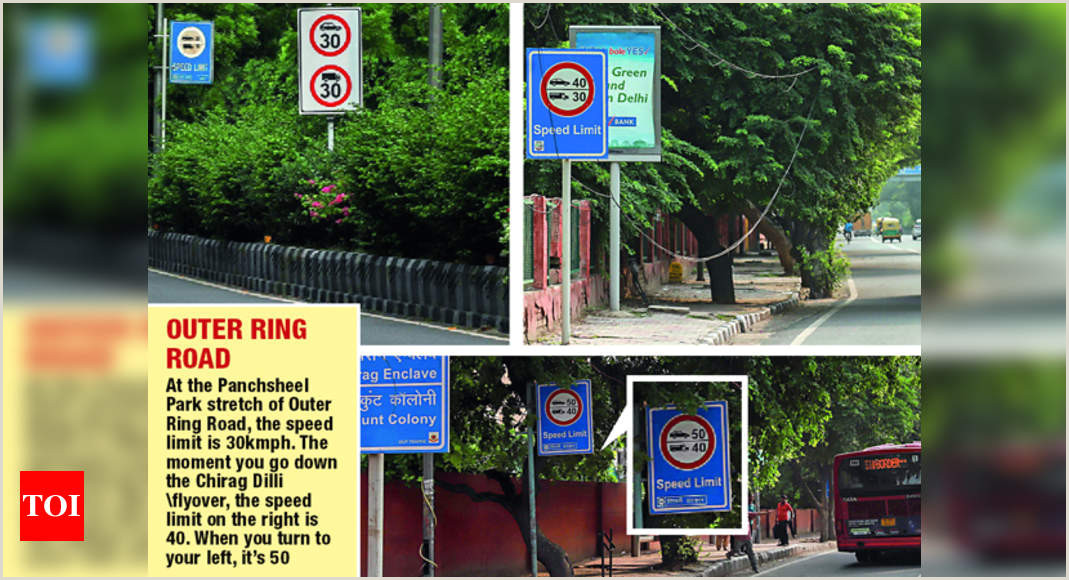 Poster Board Carrying Case The Variation In Speed Limits In Ncr Is Bizarre