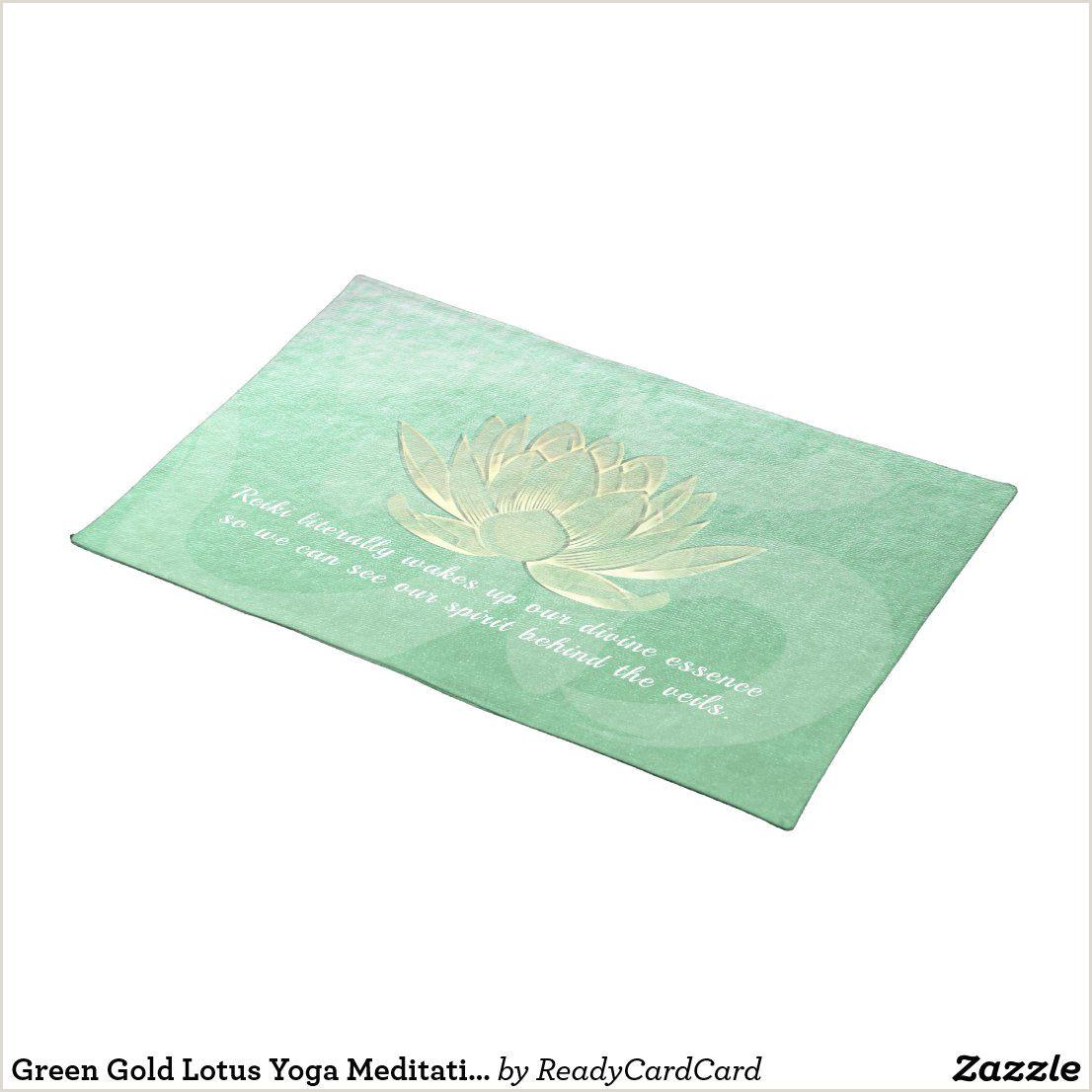 Premium Unique Business Cards Golden Lotus Premium Yoga Mat Review