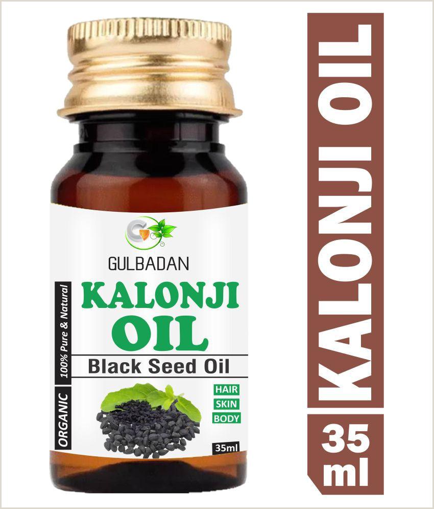 Premium Unique Business Cards Gulbadan Premium Kalonji Black Seed Oil Skin & Hair Oil 40 Ml