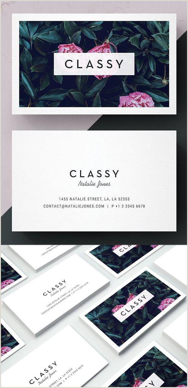 Pretty Business Cards Modern Business Card Psd Templates 30 Print Ready Design