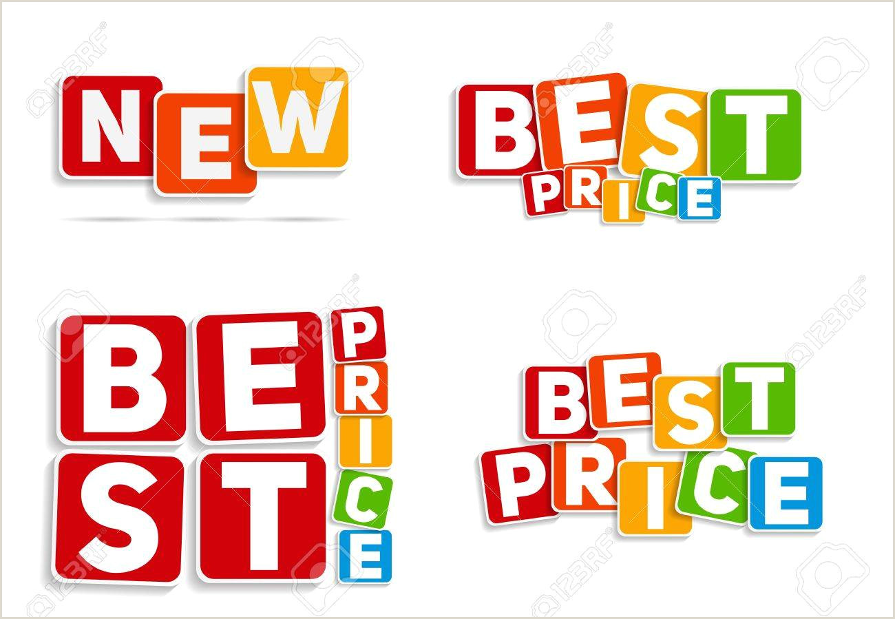 Price Signs Template New Best Price Sign Template Vector Illustration
