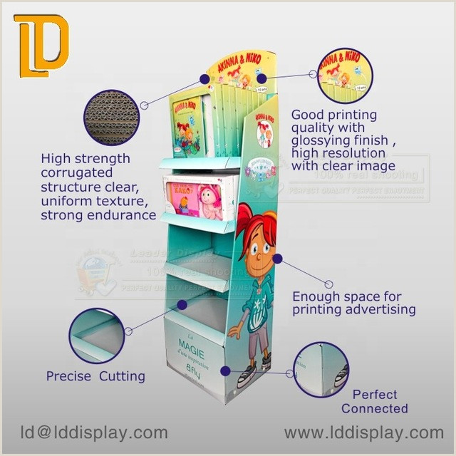 Pricing Display Stands Good Price Custom Point Purchase Retail Floor Cardboard