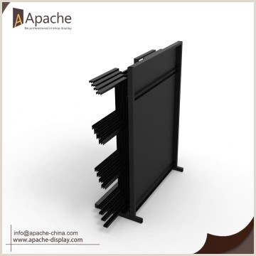 Pricing Display Stands Heavy Bearing Board Display Stand With Hinges China Manufacturer