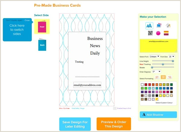Print Best Business Cards Online The Best Line Business Card Printing Services