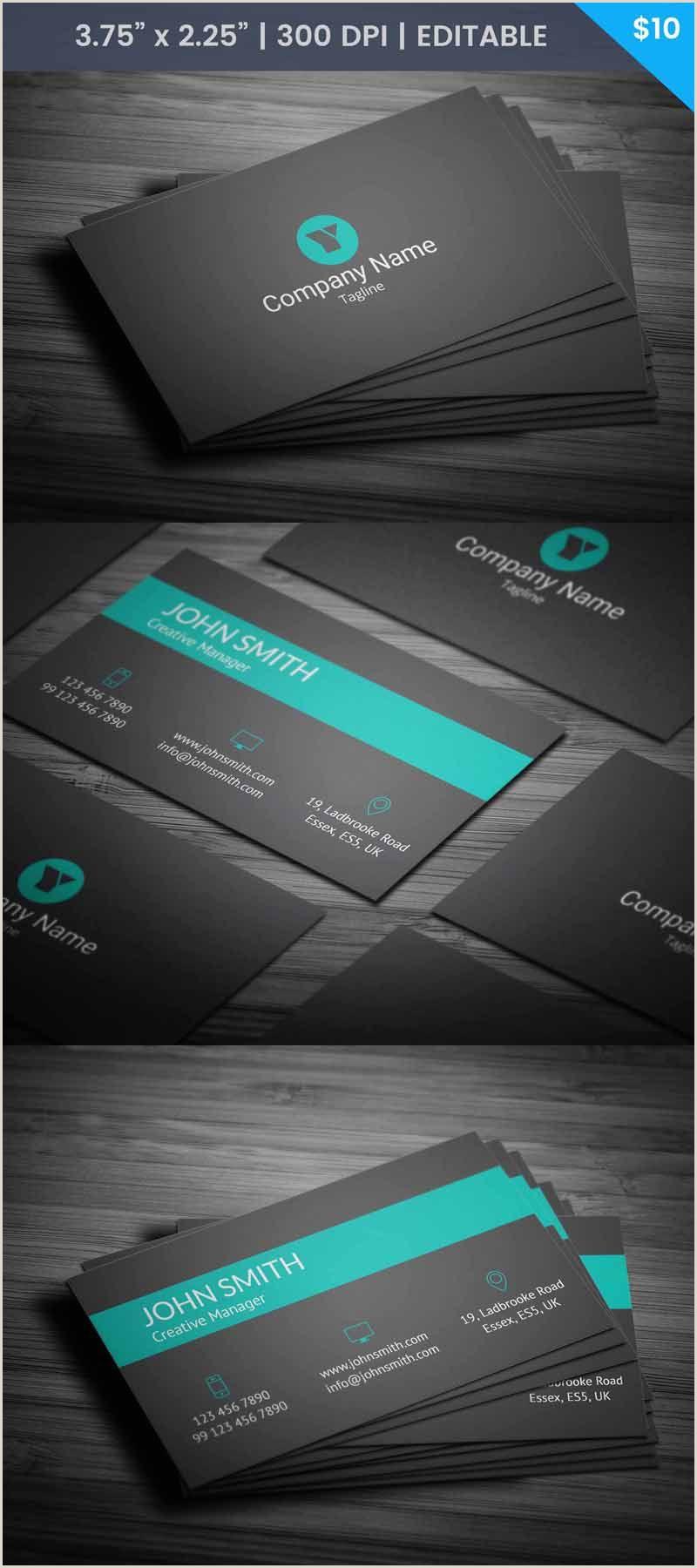 Print Business Card Online Free Modern Green Business Card Template Businesscard