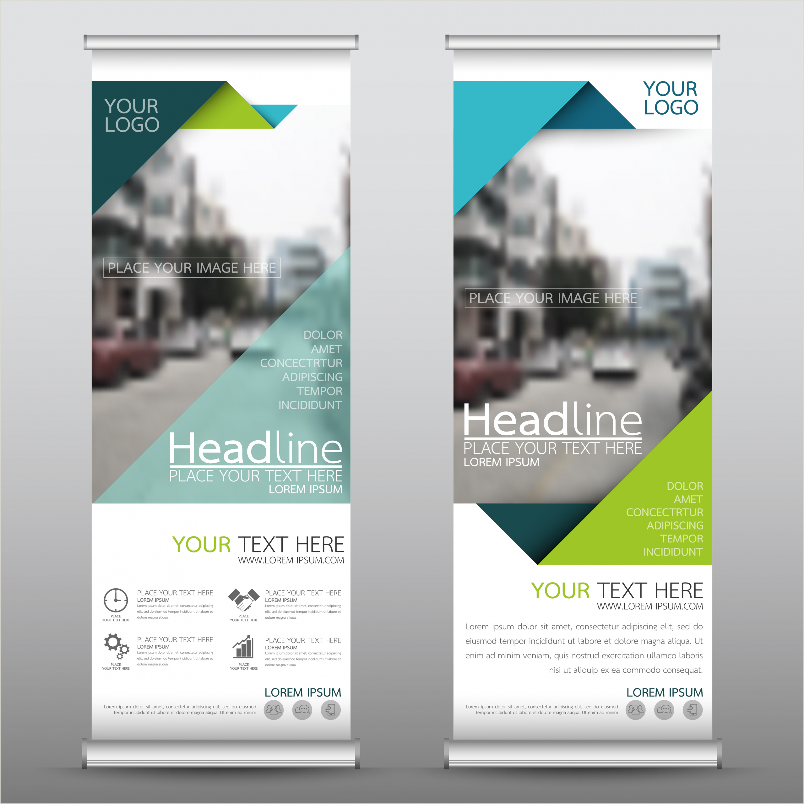 Print Roll Up Banner Home
