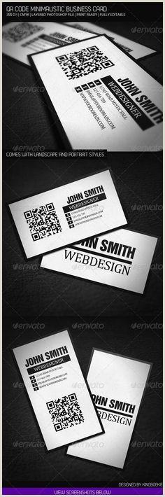 Print Unique Qr Codes On Business Cards 10 Best Qr Code Business Cards Images