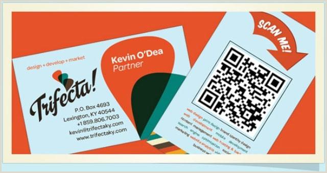 Print Unique Qr Codes On Business Cards 22 Great Examples Of Qr Code Business Cards And Business