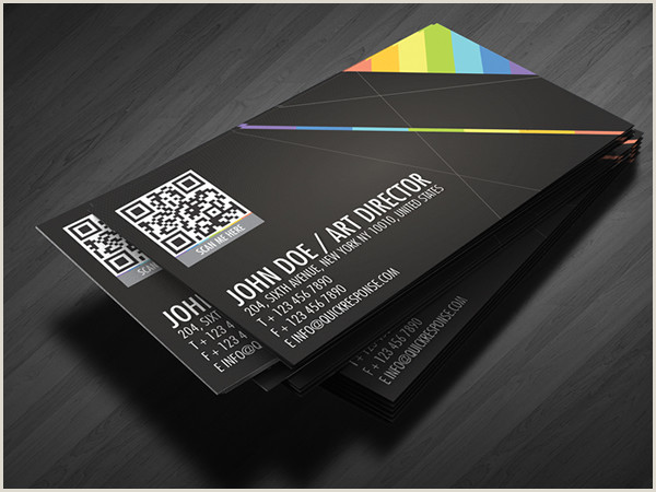Print Unique Qr Codes On Business Cards 25 Impressive Examples Of Qr Code Business Cards