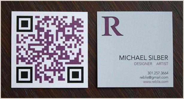 Print Unique Qr Codes On Business Cards 30 Creative Qr Code Business Cards