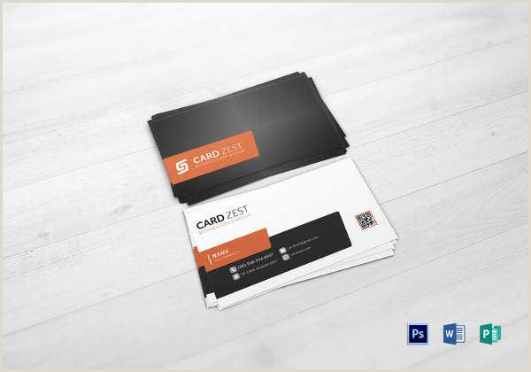 Print Unique Qr Codes On Business Cards 34 Best Qr Code Business Card Identity Mockups Psd Word