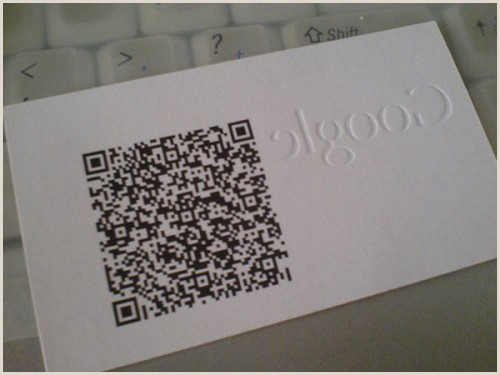 Print Unique Qr Codes On Business Cards 50 Best Examples Qr Code In Business Card