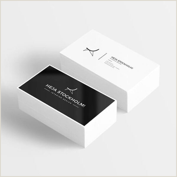 Printing Business Card Business Card – With Print Option Print And Get