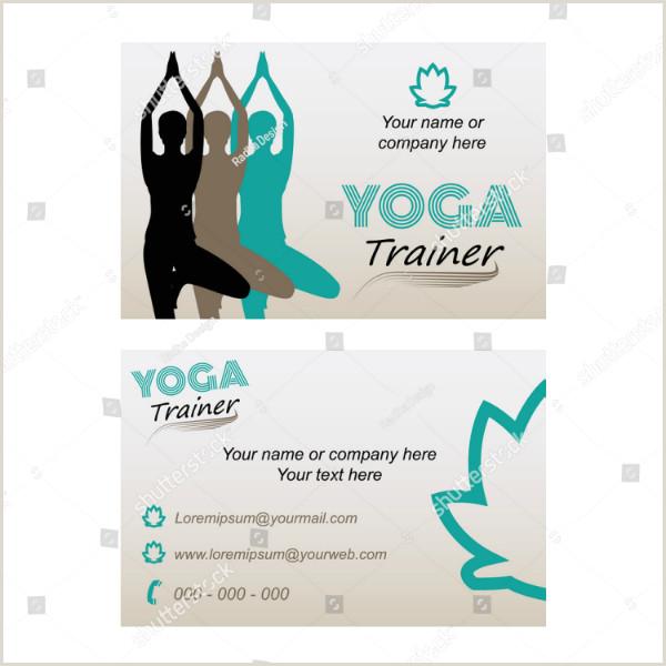 Privet Yoga Teacher Best Business Cards 19 Yoga Instructor Business Card Templates Ai Psd Pages