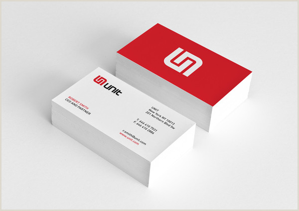 Professional Business Card Examples Professionally Designed Business Cards 25 Examples
